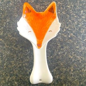 NEW adorable Fox 🦊 spoon rest